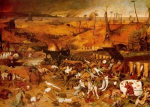 """""""Triumf śmierci"""", Peter Breugel Starszy (1569)"""