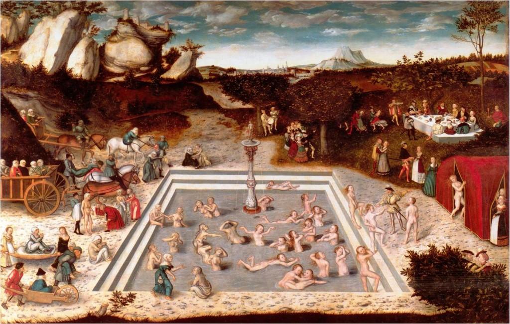 Studnia Młodości, Lucas Cranach Starszy 1546